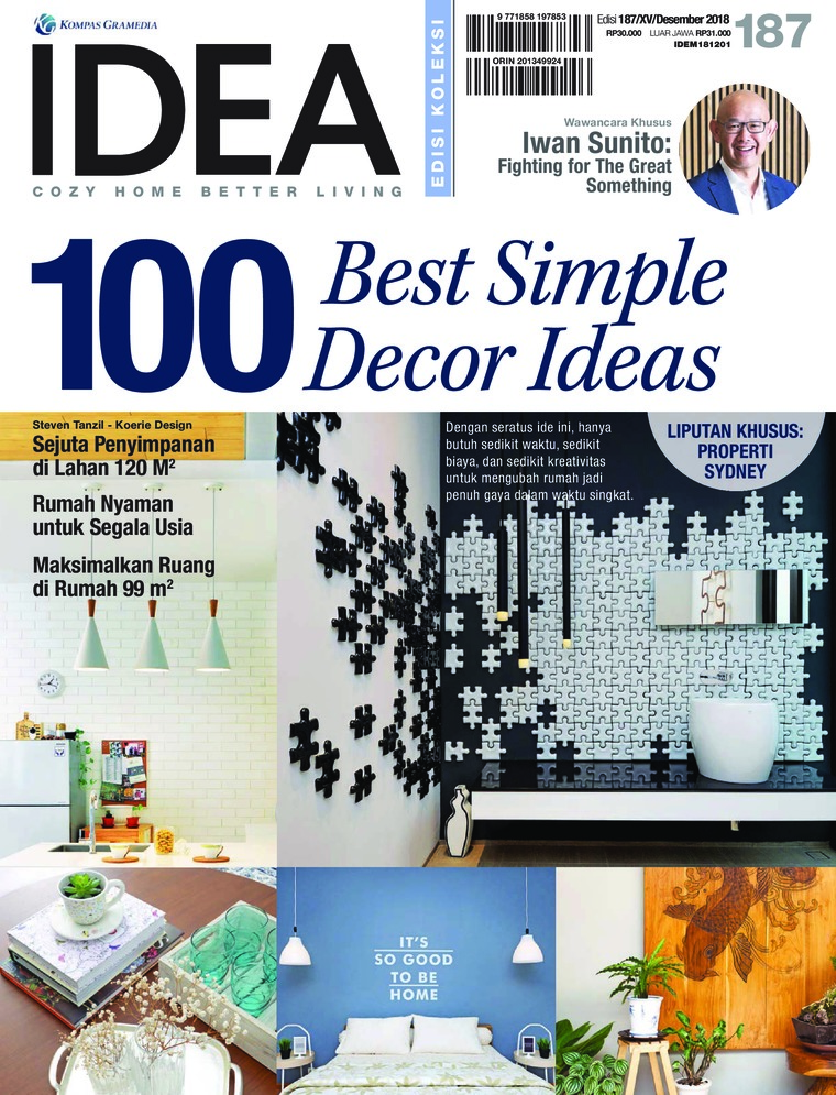 Majalah Digital iDEA ED 187 Desember 2018