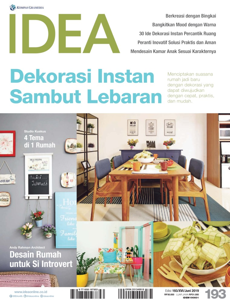 Majalah Digital iDEA ED 193 Juni 2019