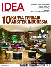Cover Majalah iDEA ED 181 Juni 2018