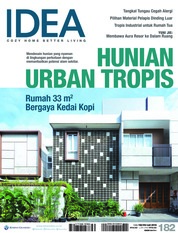 Cover Majalah iDEA ED 182 Juli 2018