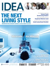 IDEA Magazine Cover ED 185 October 2018