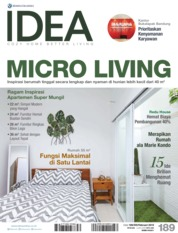 IDEA Magazine Cover ED 189 February 2019