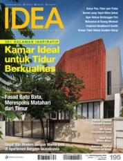 Cover Majalah iDEA ED 195 Agustus 2019