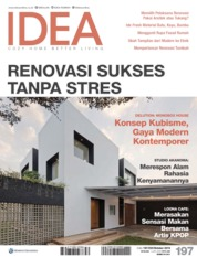 Cover Majalah iDEA ED 197 Oktober 2019