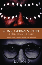 Guns, Germs & Steel (NEW) by Jared Diamond Cover