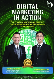 Cover Digital Marketing in Action 2nd Edition oleh Jimmy Susanto & Juanda Rovelim