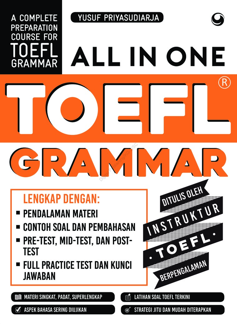 ALL IN ONE TOEFL GRAMMAR by Yusuf Priyasudiarja Digital Book