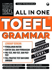 Cover ALL IN ONE TOEFL GRAMMAR oleh Yusuf Priyasudiarja