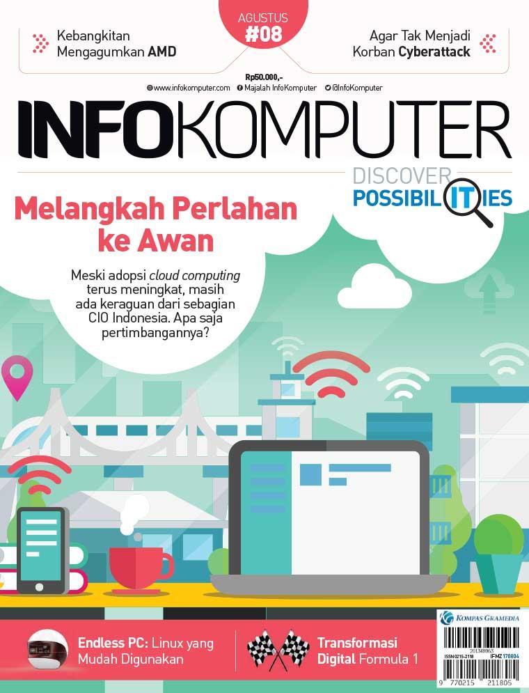 Majalah Digital Info Komputer ED 08 2017