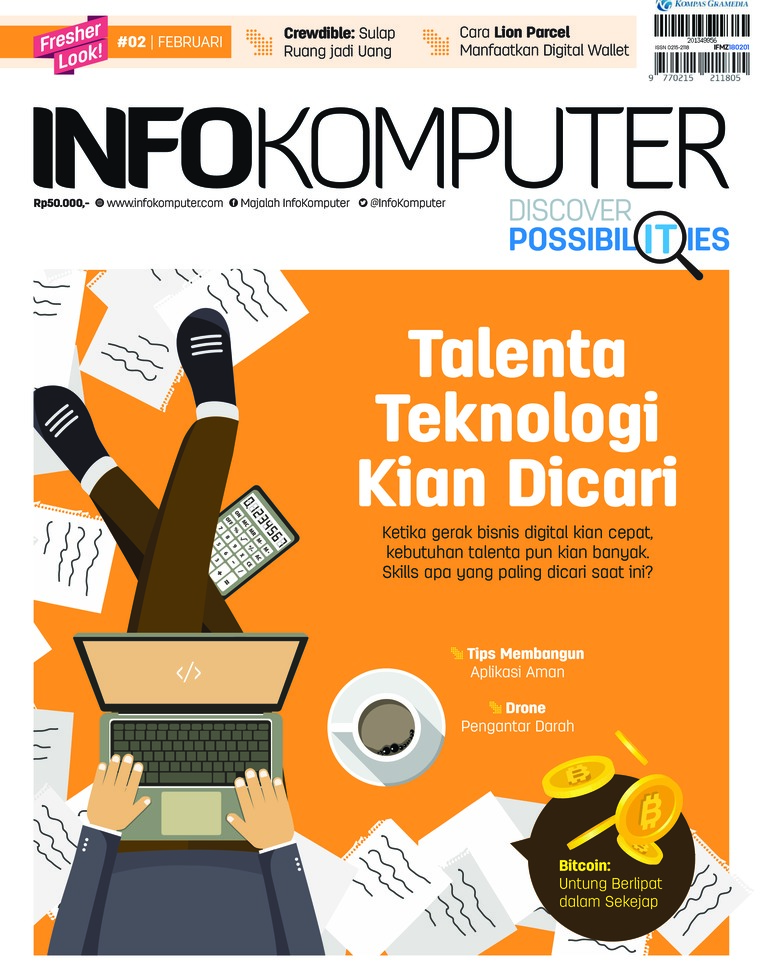 Majalah Digital Info Komputer ED 02 2018