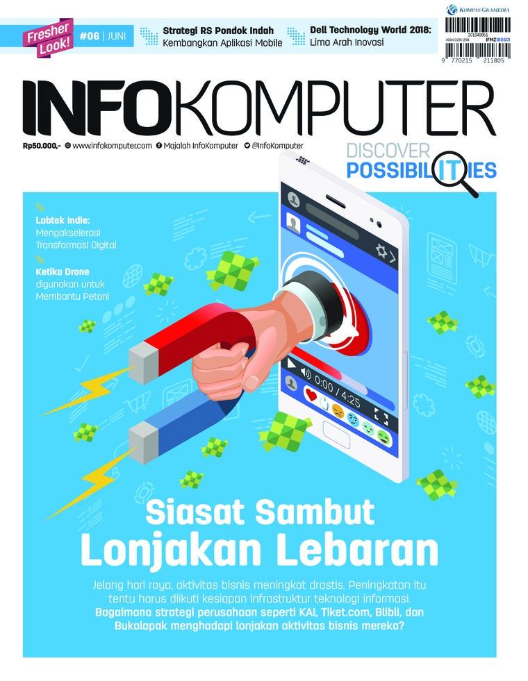 Majalah Digital Info Komputer ED 06 Juni 2018