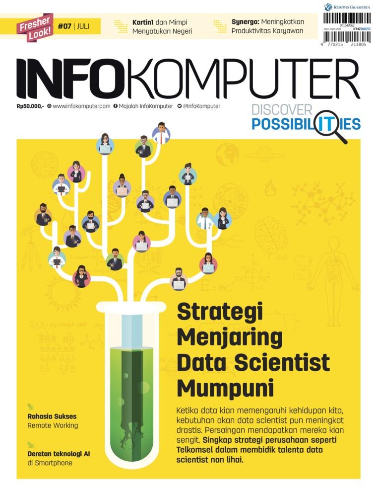 Majalah Digital Info Komputer ED 07 Juli 2018