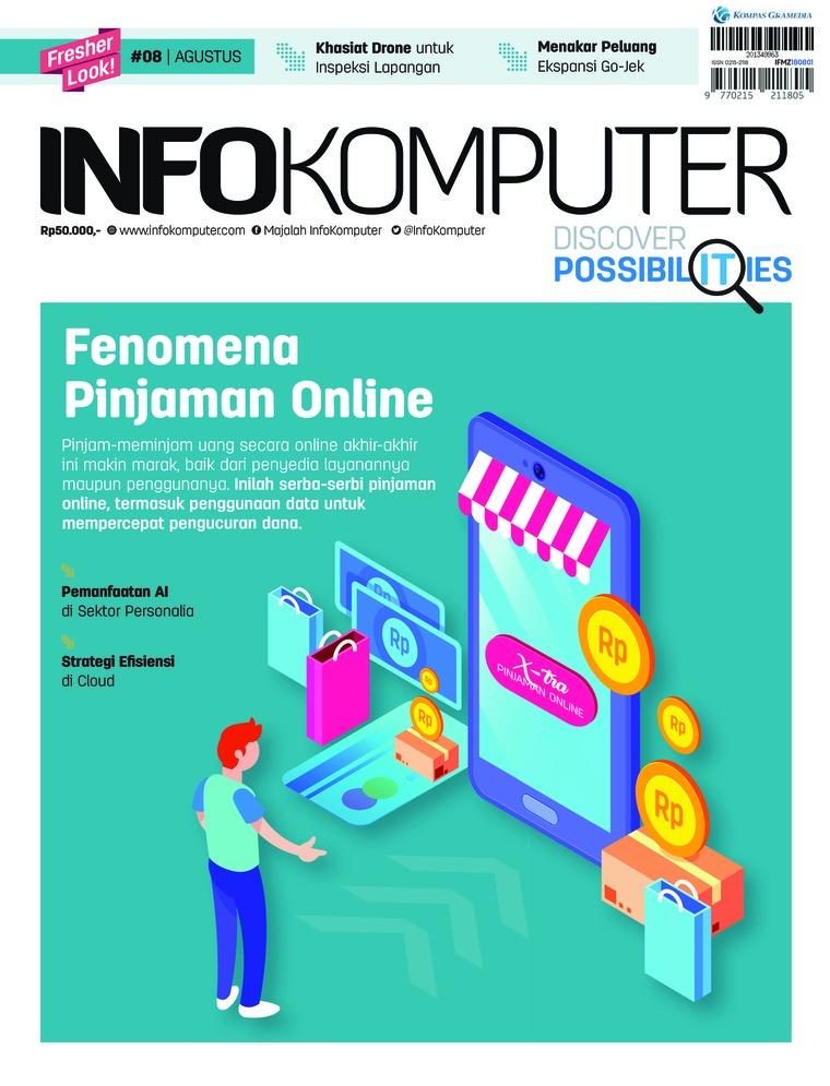 Majalah Digital Info Komputer ED 08 Agustus 2018
