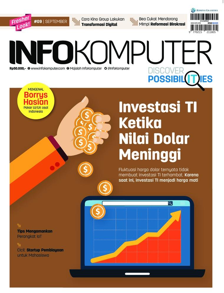 Info Komputer Digital Magazine ED 09 September 2018