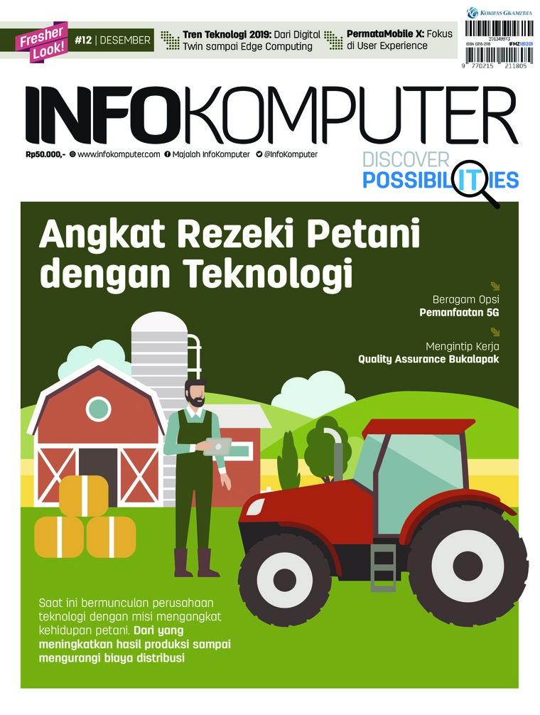 Majalah Digital Info Komputer ED 12 Desember 2018