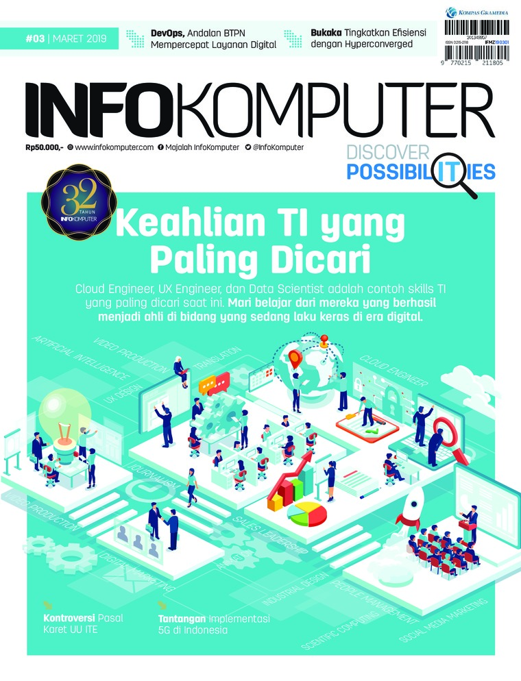Majalah Digital Info Komputer ED 03 Maret 2019