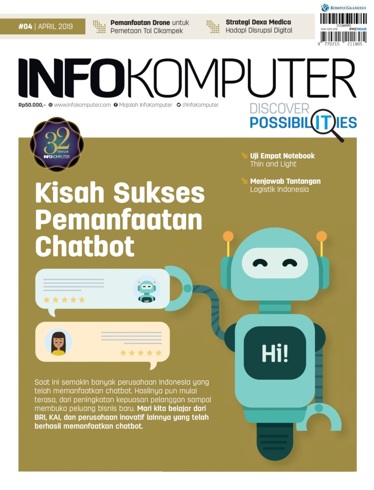 Majalah Digital Info Komputer ED 04 April 2019