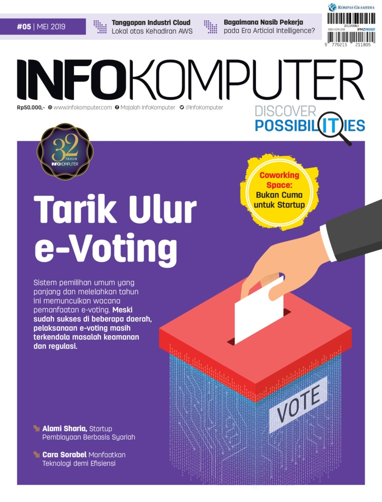 Info Komputer Digital Magazine ED 05 May 2019