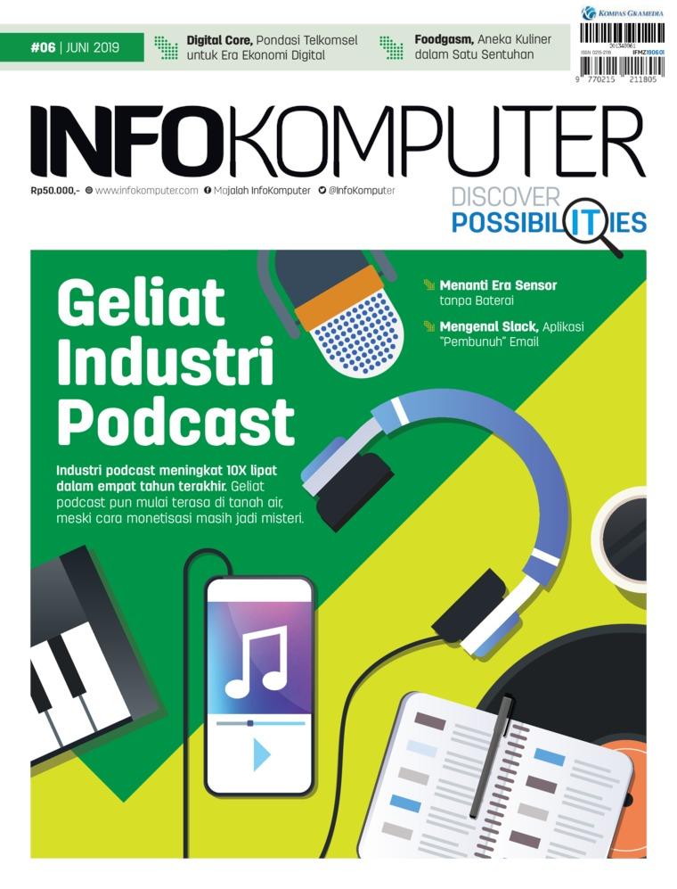 Majalah Digital Info Komputer ED 06 Juni 2019