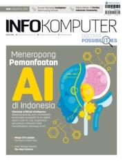 Cover Majalah Info Komputer ED 08 Agustus 2019