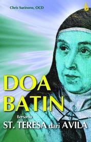 Cover Doa Batin bersama St. Teresa dari Avila oleh Chris Surinono, OCD