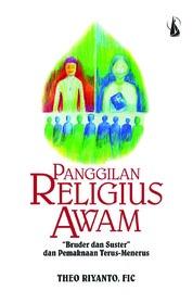 Cover Panggilan Religius Awam: