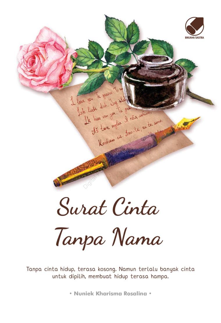 Buku Digital Surat Cinta tanpa Nama oleh Nuniek Kharisma Rosalina