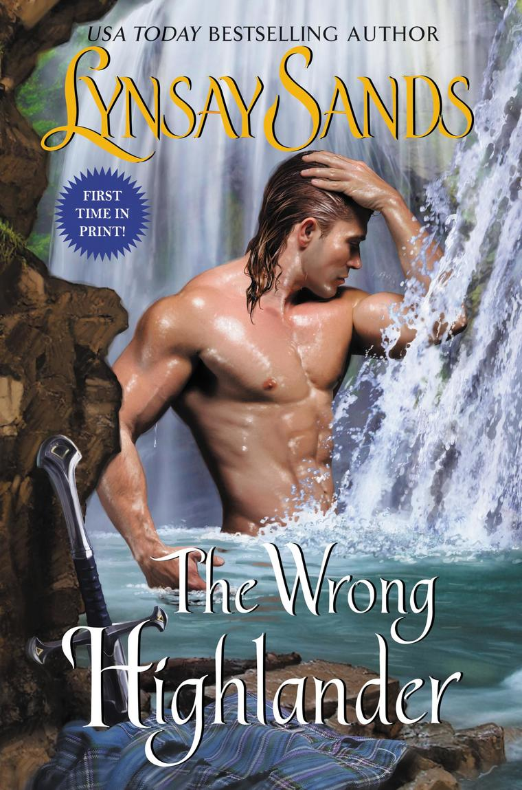 The Wrong Highlander by Lynsay Sands Digital Book