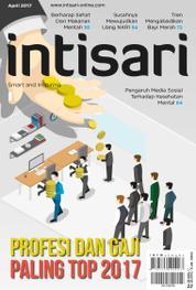 Cover Majalah intisari ED 655 April 2017