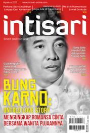 Cover Majalah intisari ED 659 Agustus 2017