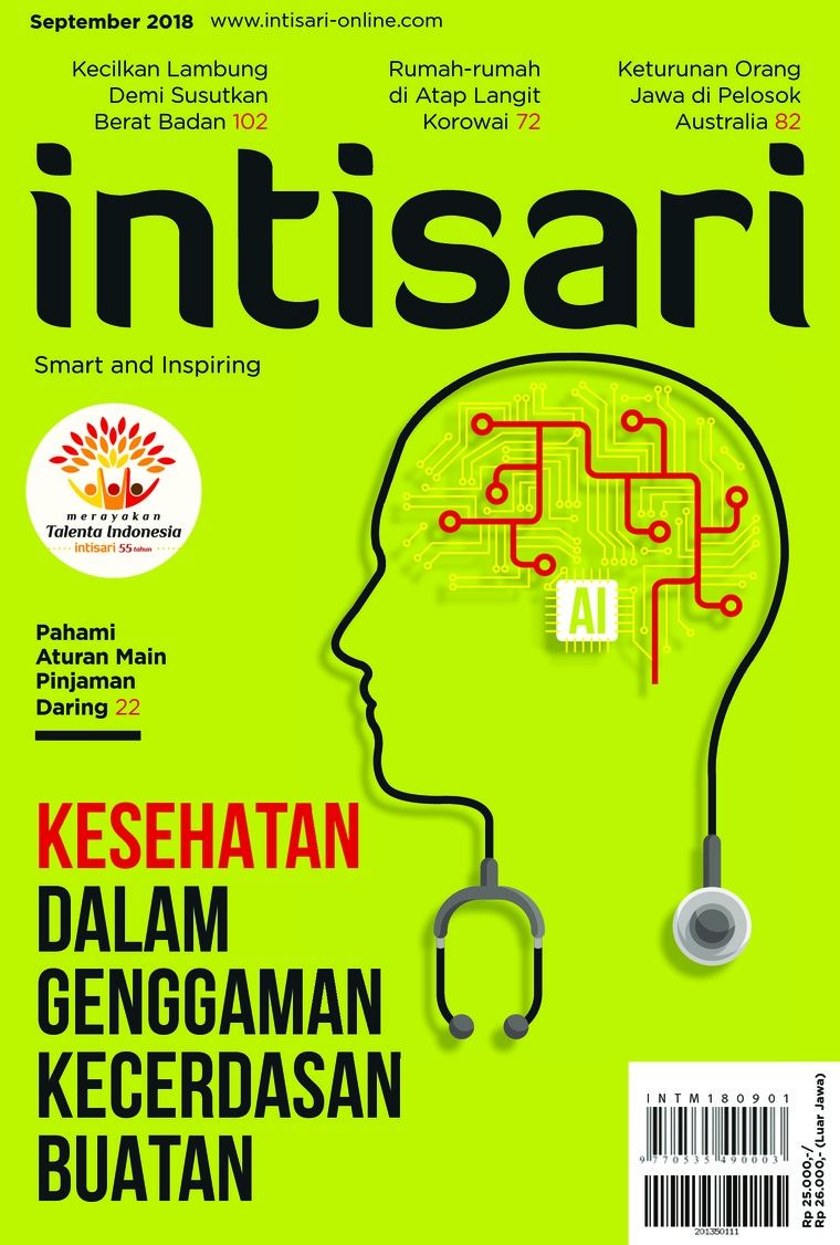 Majalah Digital intisari ED 672 September 2018