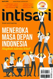 Cover Majalah intisari ED 667 April 2018