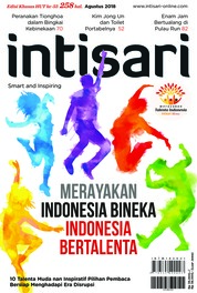 Intisari Magazine Cover ED 671 August 2018