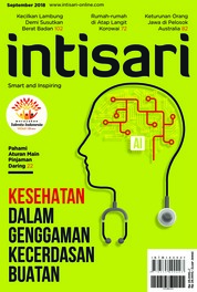 Cover Majalah intisari ED 672 September 2018