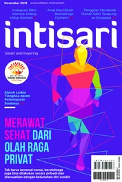 Cover Majalah intisari ED 674 November 2018