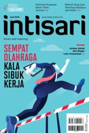 Cover Majalah intisari ED 679 April 2019