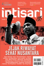 Intisari Magazine Cover ED 683 August 2019