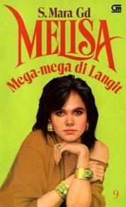 Cover Melisa 9: Mega-Mega di Langit oleh S. Mara Gd.