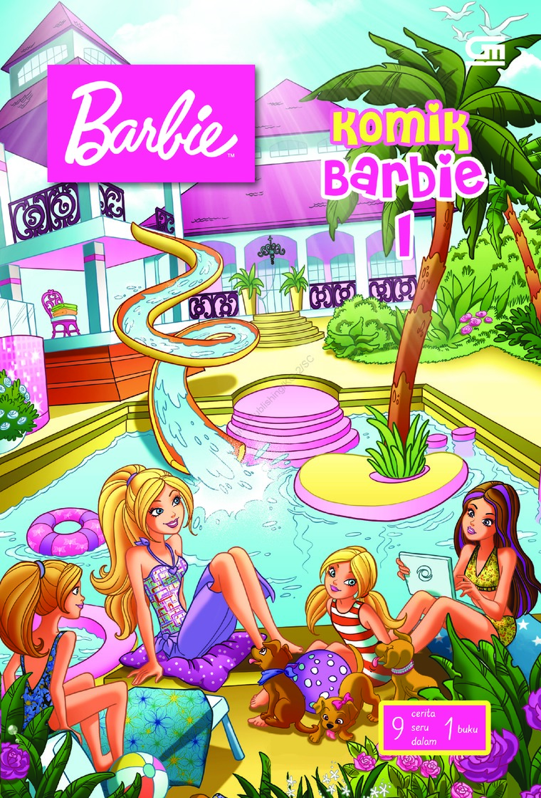 Komik Barbie#1 by Mattel Digital Book