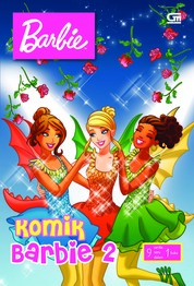 Komik Barbie#2 by Mattel Cover