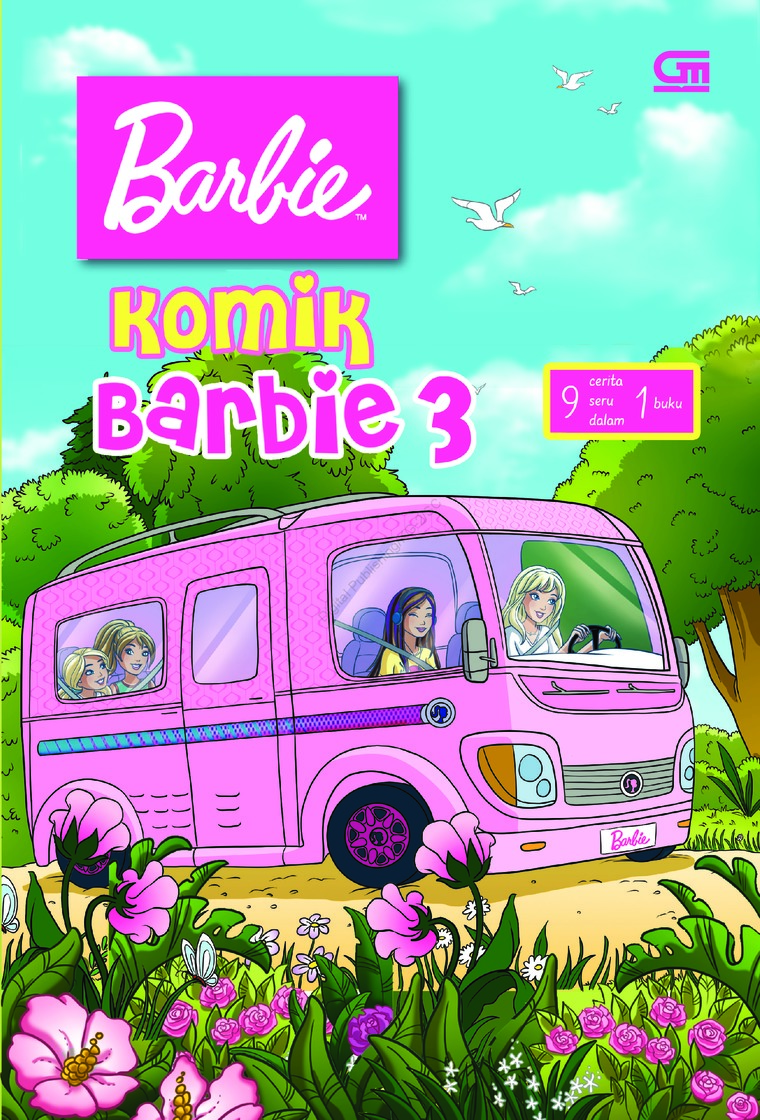 Komik Barbie#3 by Mattel Digital Book