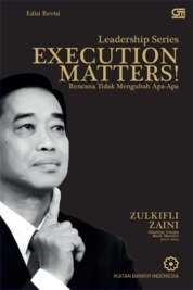 Execution Matters! Edisi Revisi by Zulkifli Zaini Cover