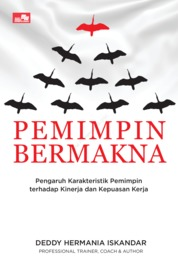 Cover Pemimpin Bermakna oleh Deddy Hermania Iskandar