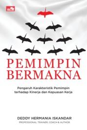 Pemimpin Bermakna by Deddy Hermania Iskandar Cover