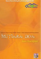 Cover Mutiara Doa dan Harapan oleh Sehimpun Puisi & Prosa Terbaik Kawan - Kawin Gubug Kreatif Kang Syahrul