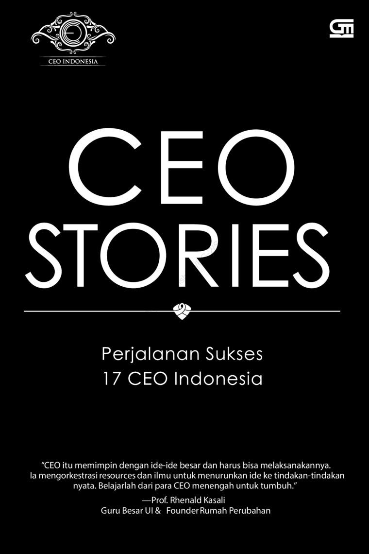 Buku Digital CEO Stories: Perjalanan Sukses 17 CEO di Indonesia oleh Wahyu Raharjo