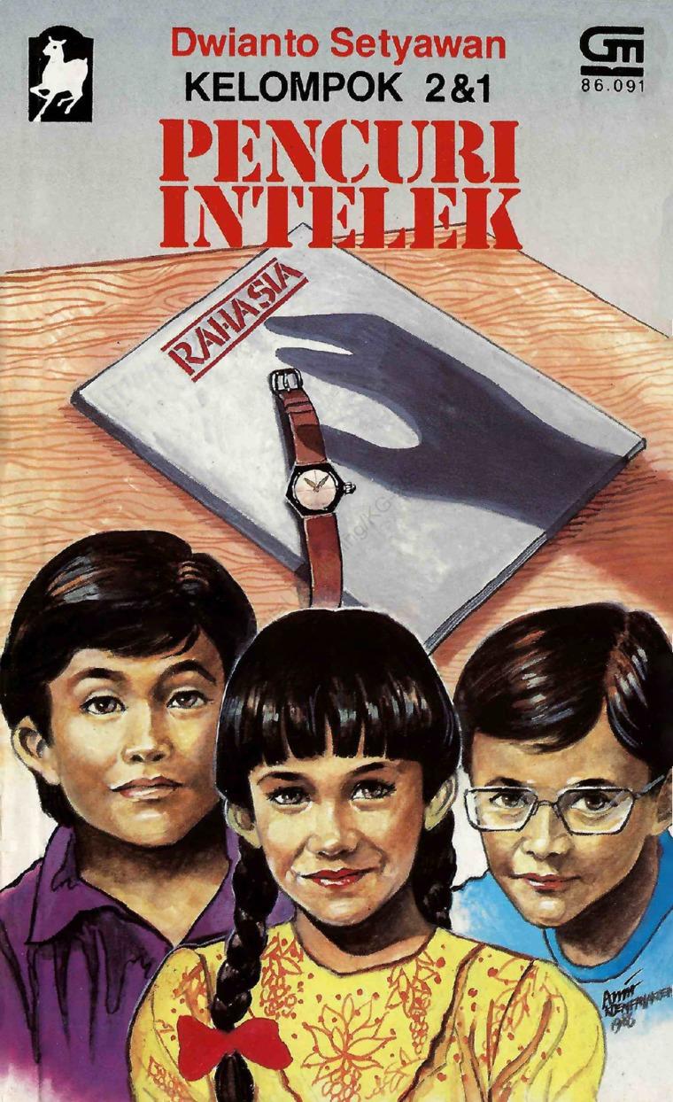 Buku Digital Kelompok 2&1 #8 Pencuri Intelek oleh Dwianto Setyawan