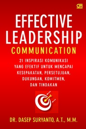 Cover Effective Leadership Communication oleh Dasep Suryanto