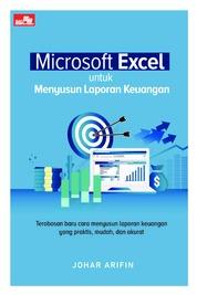 Cover Microsoft Excel untuk Menyusun Laporan Keuangan oleh Johar Arifin