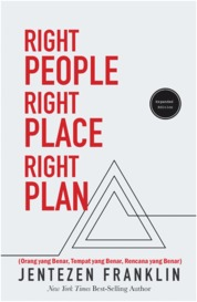 Right People, Right Place, Right Plan by Jentezen Franklin Cover